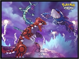 Emerad, Kyogre, Groudon
